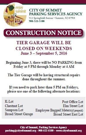 Tier Garage Construction