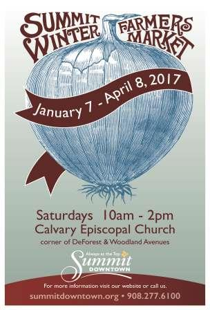 Winter Farmers Market poster 2017