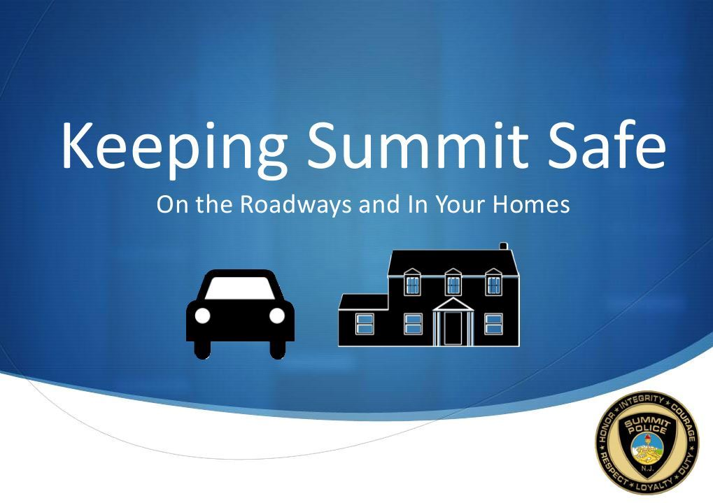 Kepping Summit Safe presentation cover