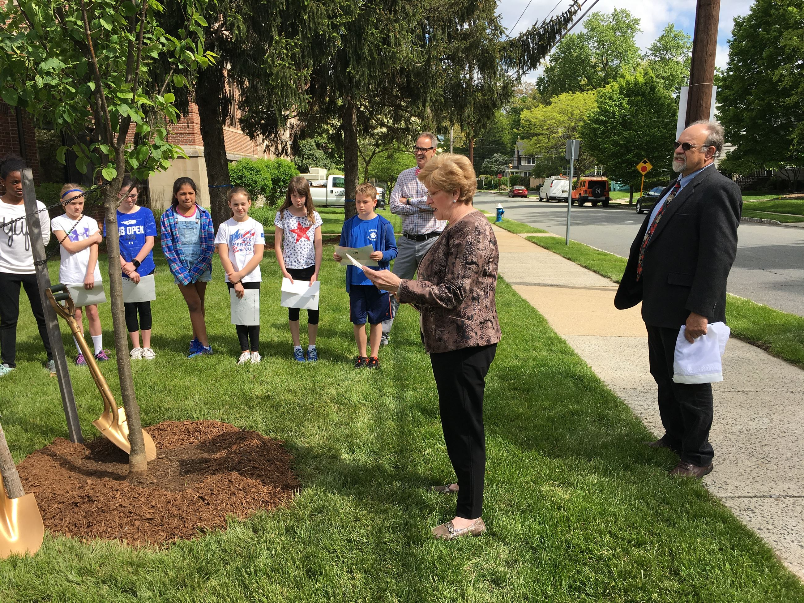 Arbor day Mayor