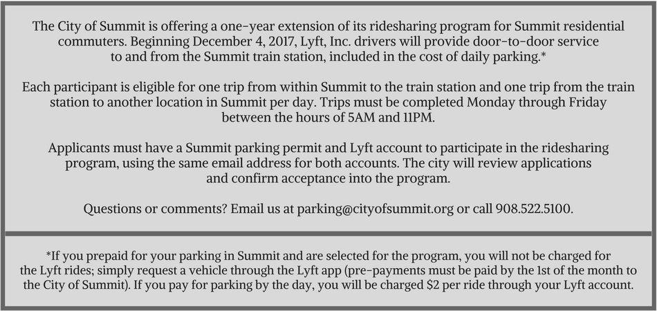 Ridesharing form NEW Lyft