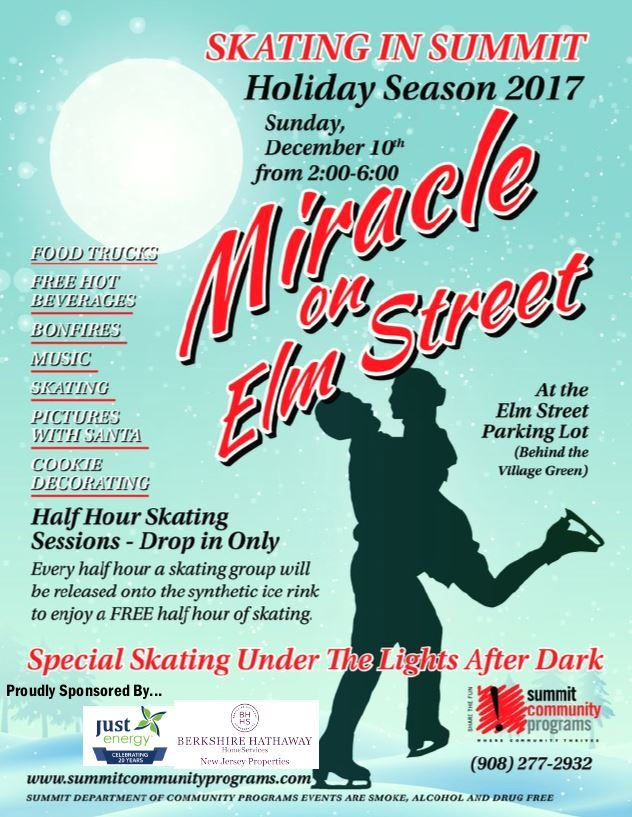 Miracle on Elm street flyer 2017
