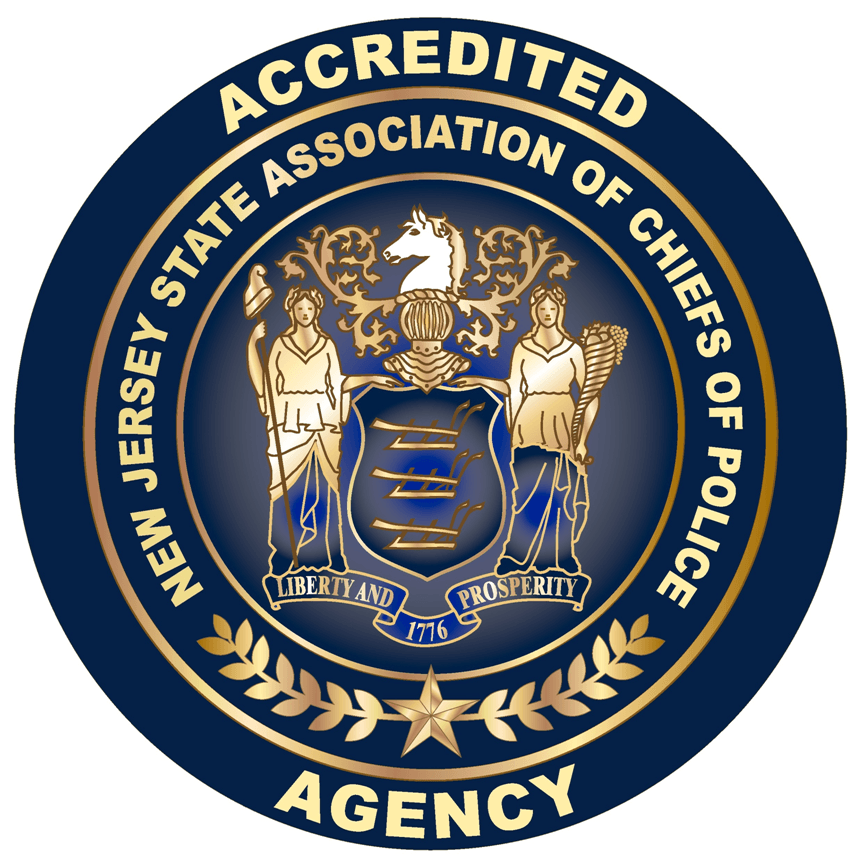 New Jersey Seal showing Accreditation