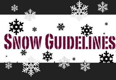snow guildelines