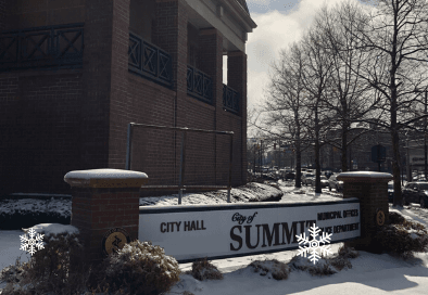 city hall snow