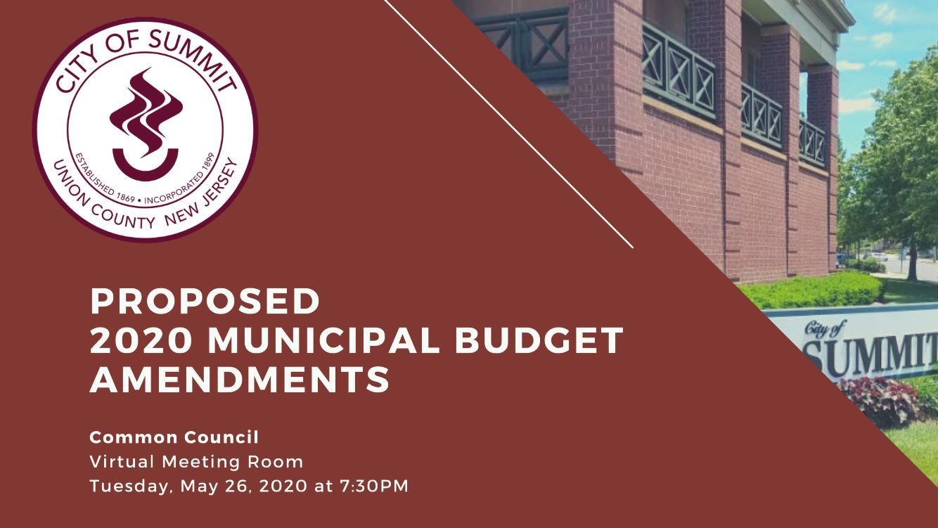 2020 budget amendments
