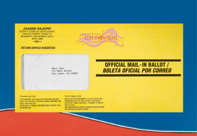 Primary election ballot