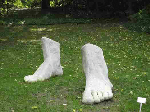 Feet Sculpture
