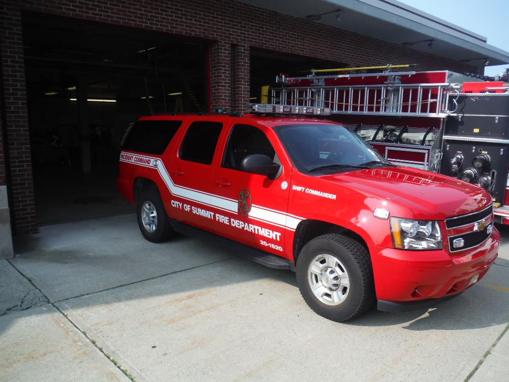 Incident Command Red Truck