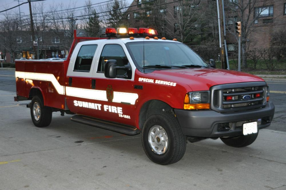 Special Services Red Truck